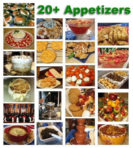 Appetizers and Party Foods - Cookie Exchange com
